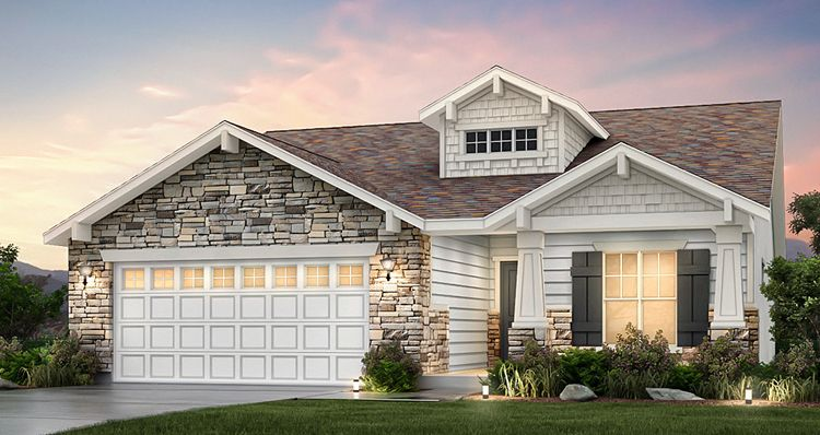 Exterior featured in the Sage - SWH By Woodside Homes in Salt Lake City-Ogden, UT