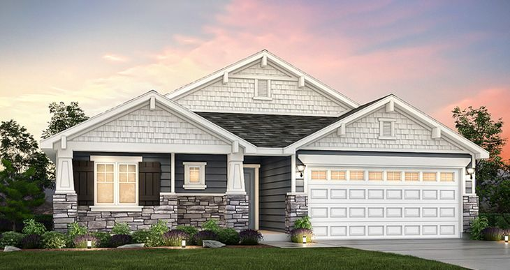 Elevation:Woodside Homes - Edgewater - SWH