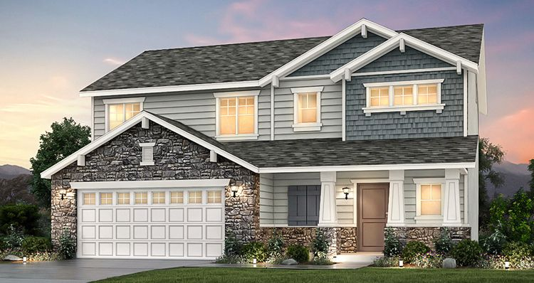 Exterior featured in the Amesbury - SWH By Woodside Homes in Salt Lake City-Ogden, UT
