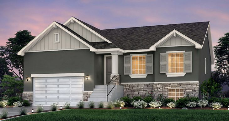 Elevation:Woodside Homes - Hanbury - SKV