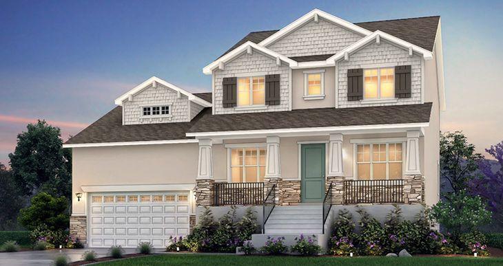Elevation:Woodside Homes - Banyan - SKV