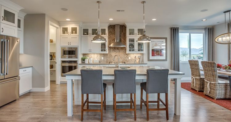 Kitchen featured in the Hampton Estate - By Woodside Homes in Salt Lake City-Ogden, UT