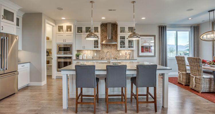 Kitchen-in-Hampton Estate --at-Still Water Preserve-in-Syracuse
