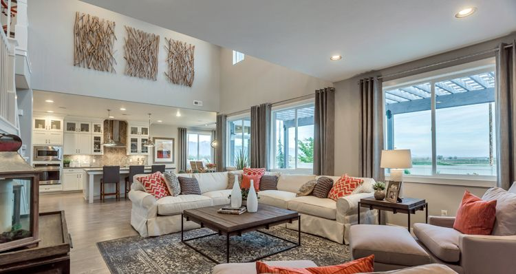 Living Area featured in the Hampton Estate - By Woodside Homes in Salt Lake City-Ogden, UT