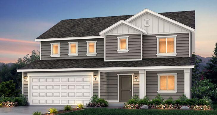 Elevation:Woodside Homes - Stonehaven IV -DRS