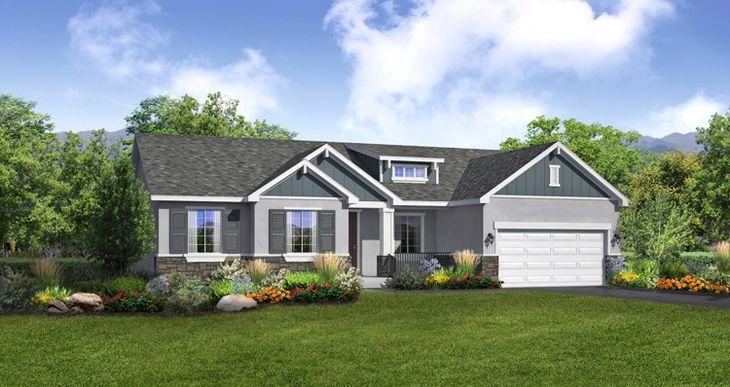 Elevation:Woodside Homes - Lot 2627 - Whitmore