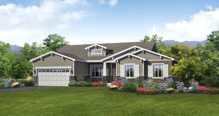 Elevation:Woodside Homes - Lot 2746 - Whitmore