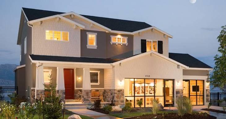 Elevation:Woodside Homes - Amesbury- LTC