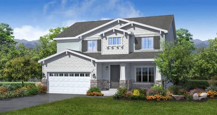 Elevation:Woodside Homes - Stonehaven IV- LTC