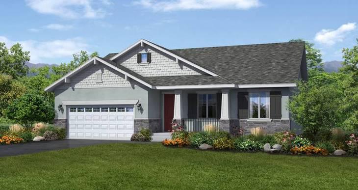 Elevation:Woodside Homes - Hanbury-LTC