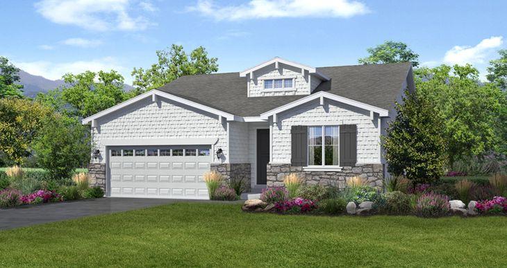 Elevation:Woodside Homes - Stonebrook II- LTC