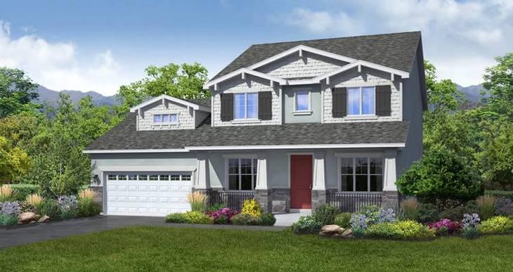 Elevation:Woodside Homes - Banyan- LTC