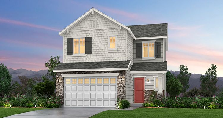 Exterior featured in the Juniper - SWS By Woodside Homes in Salt Lake City-Ogden, UT