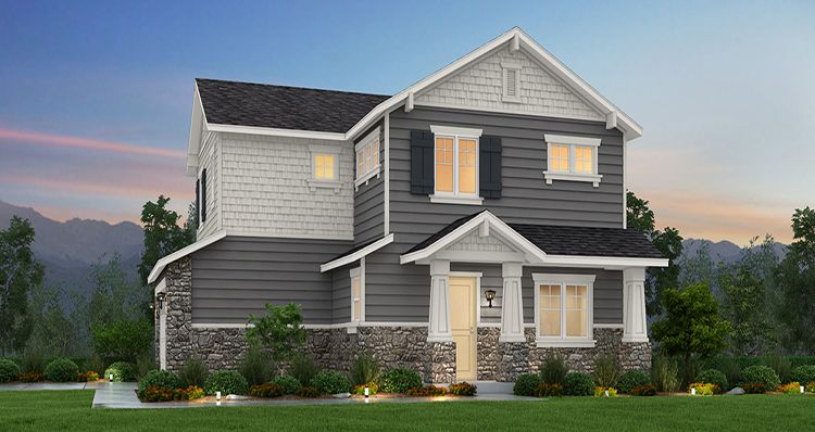 Exterior featured in the Maple - SWS By Woodside Homes in Salt Lake City-Ogden, UT