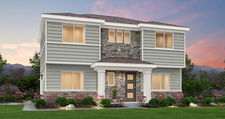 Exterior featured in the Cypress - SWS By Woodside Homes in Salt Lake City-Ogden, UT
