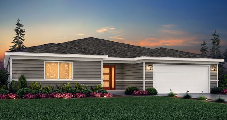 Exterior featured in the Sagecrest - SCP By Woodside Homes in Provo-Orem, UT