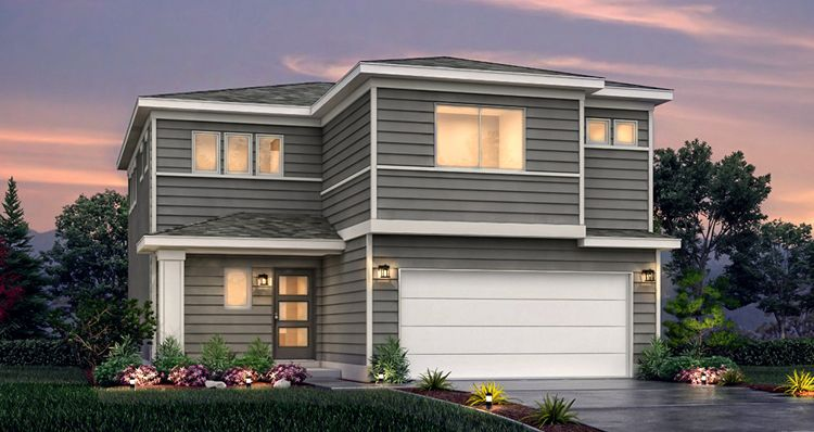 Exterior featured in the SCV - Gambel Oak By Woodside Homes in Provo-Orem, UT