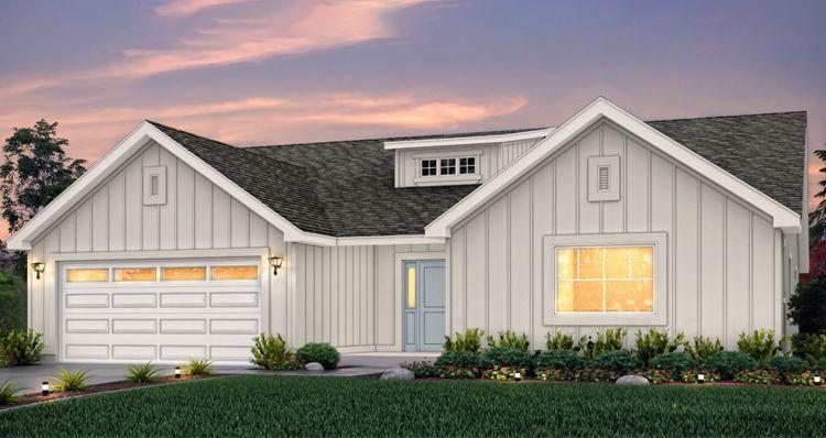 Exterior featured in the Sagecrest - HC By Woodside Homes in Salt Lake City-Ogden, UT