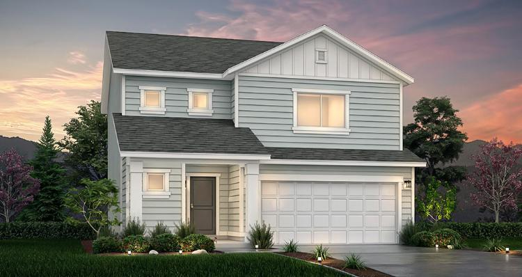 Exterior featured in the Spruce - SPV By Woodside Homes in Salt Lake City-Ogden, UT