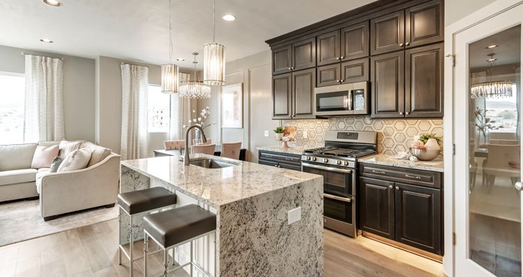 Kitchen featured in the Buchanan - DRL By Woodside Homes in Salt Lake City-Ogden, UT