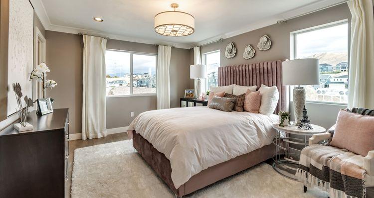 Bedroom featured in the Buchanan - DRL By Woodside Homes in Salt Lake City-Ogden, UT