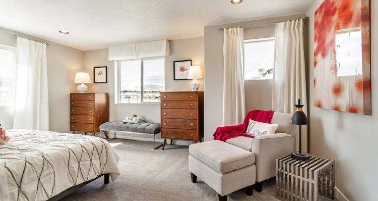 Bedroom featured in the Jefferson - DRL By Woodside Homes in Salt Lake City-Ogden, UT