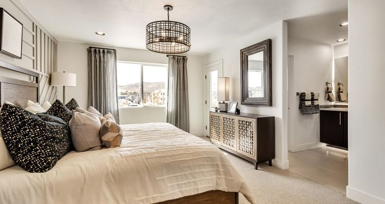 Bedroom featured in the Madison - DRL By Woodside Homes in Salt Lake City-Ogden, UT