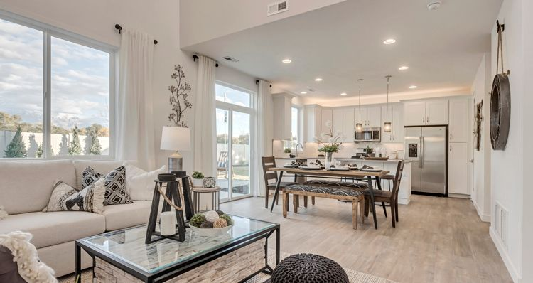 Living Area featured in the SCV - Gambel Oak By Woodside Homes in Provo-Orem, UT