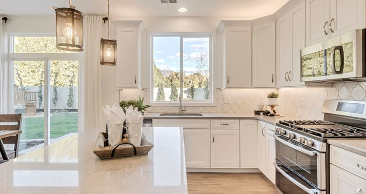 Kitchen featured in the SCV - Gambel Oak By Woodside Homes in Provo-Orem, UT