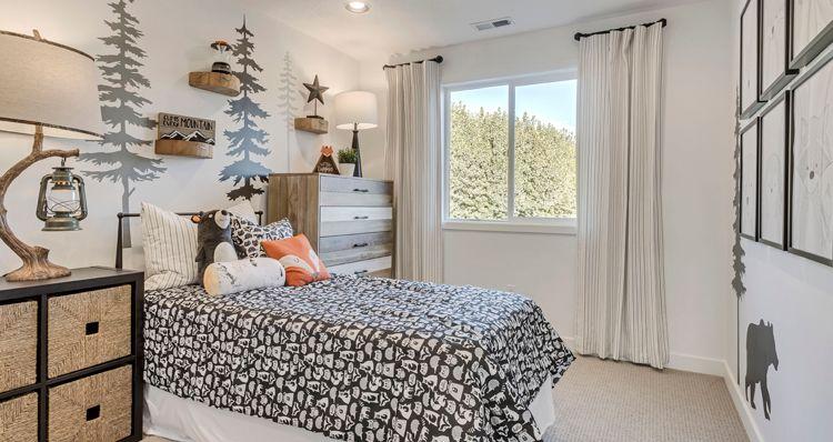 Bedroom featured in the SCV - Gambel Oak By Woodside Homes in Provo-Orem, UT