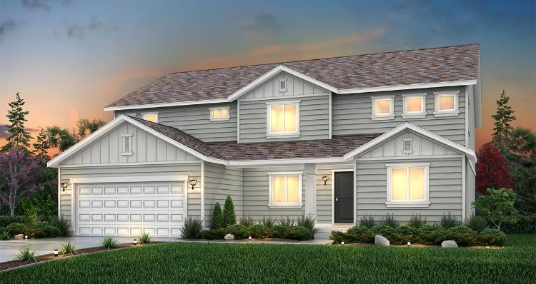 Exterior featured in the Waterford - LTC By Woodside Homes in Provo-Orem, UT