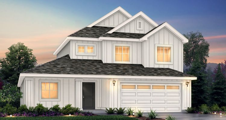 Exterior featured in the Addison - LTC By Woodside Homes in Provo-Orem, UT