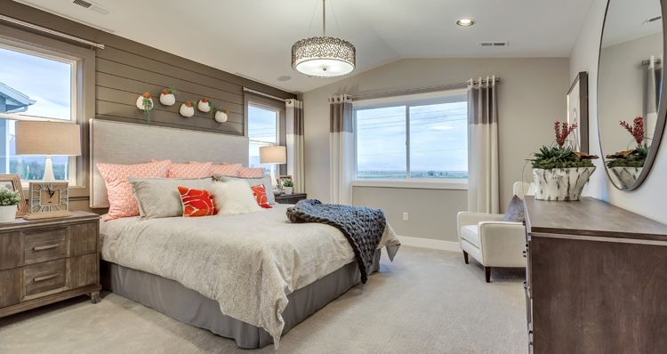 Bedroom featured in the Hampton Estate - By Woodside Homes in Salt Lake City-Ogden, UT