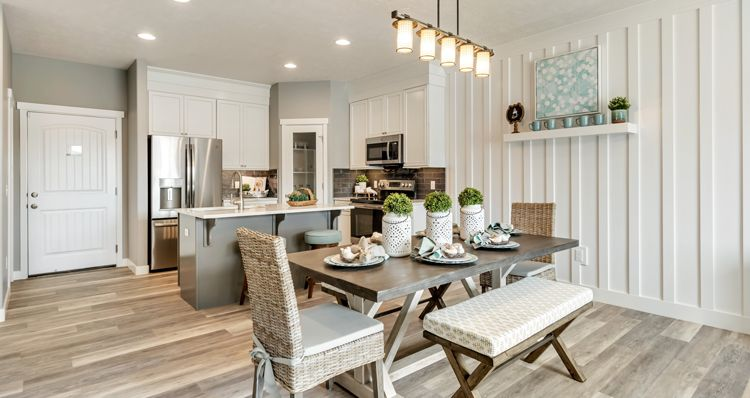 Kitchen featured in the Mckinley - DRL By Woodside Homes in Salt Lake City-Ogden, UT