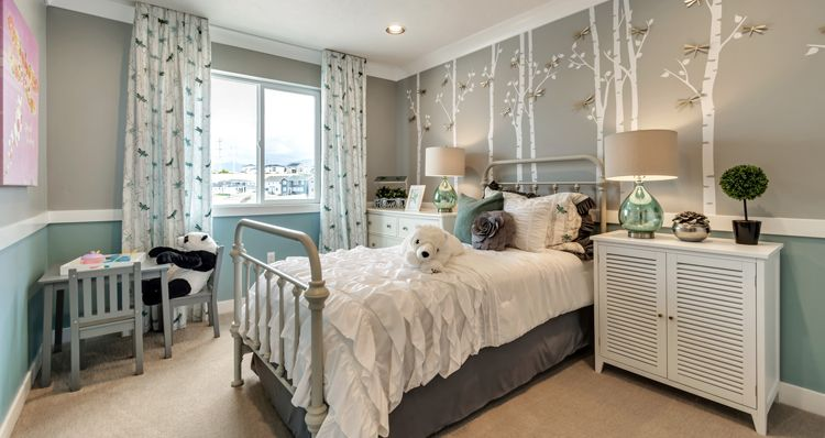 Bedroom featured in the Mckinley - DRL By Woodside Homes in Salt Lake City-Ogden, UT