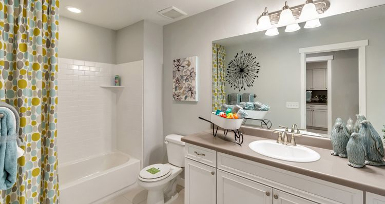 Bathroom featured in the Mckinley - DRL By Woodside Homes in Salt Lake City-Ogden, UT