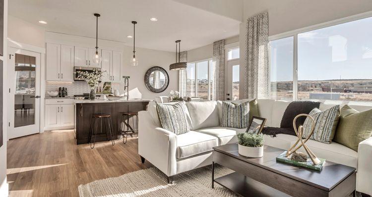Living Area featured in the Berkeley - DRE By Woodside Homes in Salt Lake City-Ogden, UT