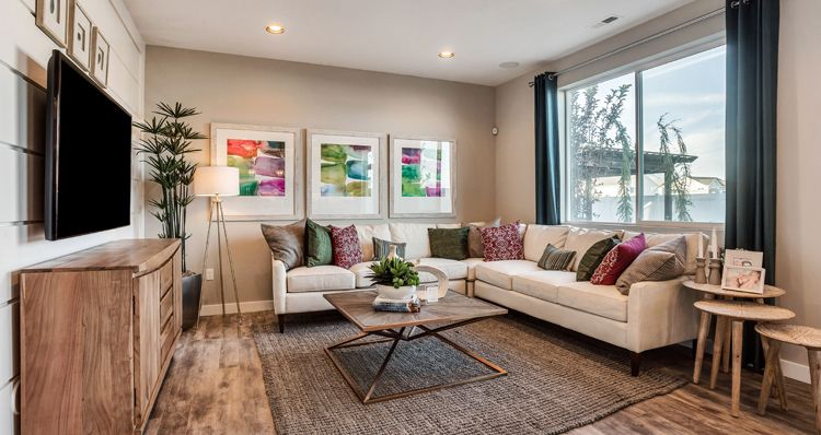 Living Area featured in the Spruce - SWS By Woodside Homes in Salt Lake City-Ogden, UT