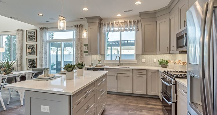 Kitchen featured in the Gambel Oak - SWS By Woodside Homes in Salt Lake City-Ogden, UT