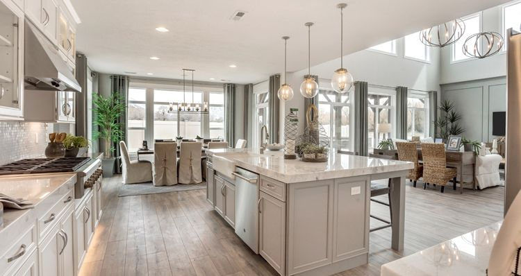 Kitchen featured in the Waterford - SCP By Woodside Homes in Provo-Orem, UT