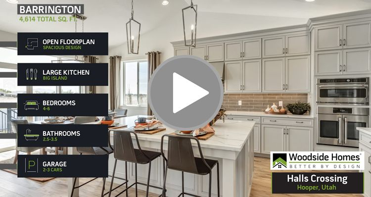 Kitchen featured in the Barrington - HC By Woodside Homes in Salt Lake City-Ogden, UT