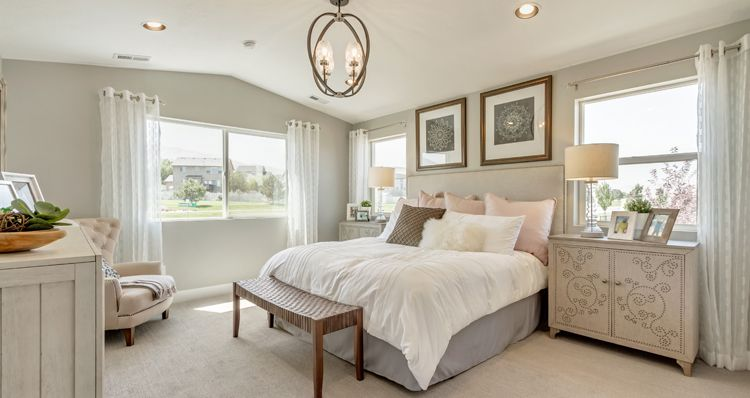 Bedroom featured in the Hampton Estate - By Woodside Homes in Provo-Orem, UT