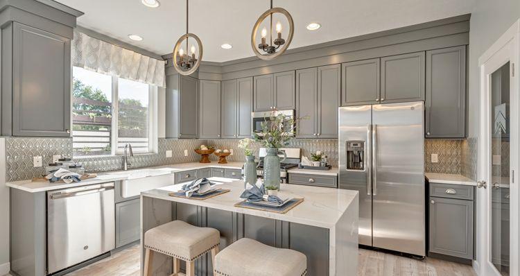 Kitchen featured in the Gambel Oak - SPV By Woodside Homes in Salt Lake City-Ogden, UT
