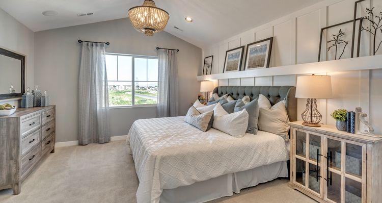 Bedroom featured in the Gambel Oak - SPV By Woodside Homes in Salt Lake City-Ogden, UT