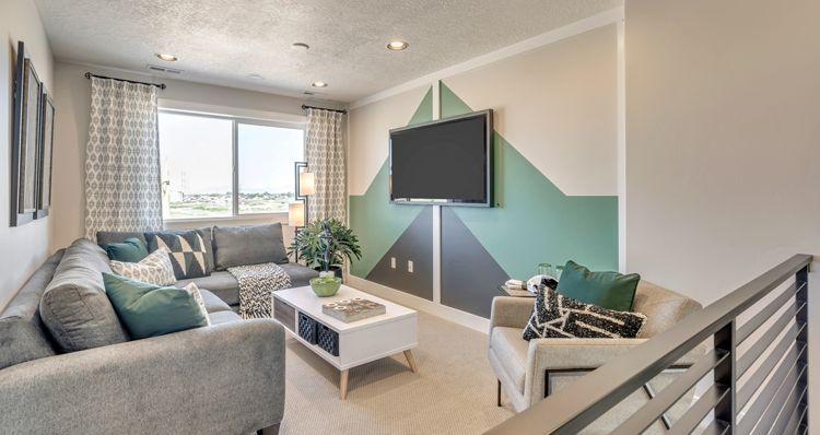 Living Area featured in the Boxelder - SPV By Woodside Homes in Salt Lake City-Ogden, UT