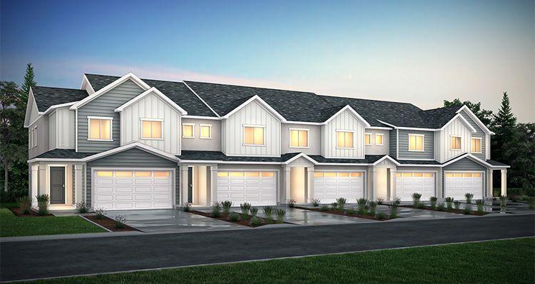 Exterior featured in the Harvard - SPE By Woodside Homes in Salt Lake City-Ogden, UT