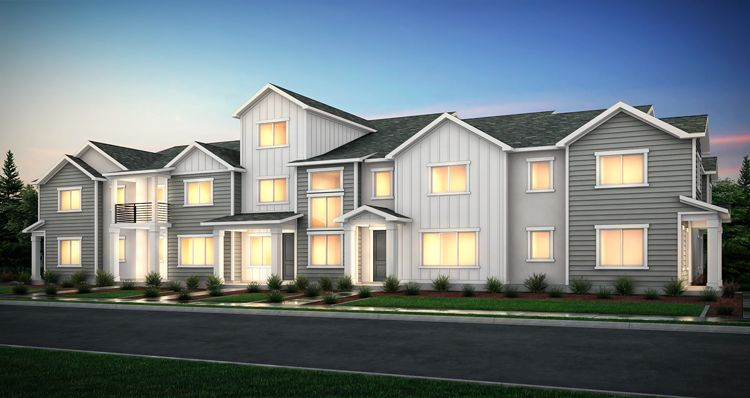 Exterior featured in the McKinley - SPL By Woodside Homes in Salt Lake City-Ogden, UT