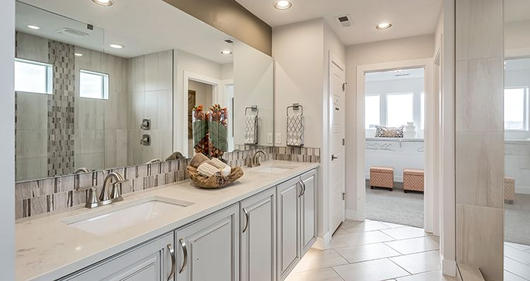 Bathroom featured in the Hampton Estate - By Woodside Homes in Provo-Orem, UT