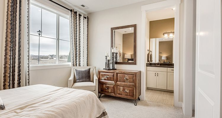 Bedroom featured in the Sagecrest - SCP By Woodside Homes in Provo-Orem, UT