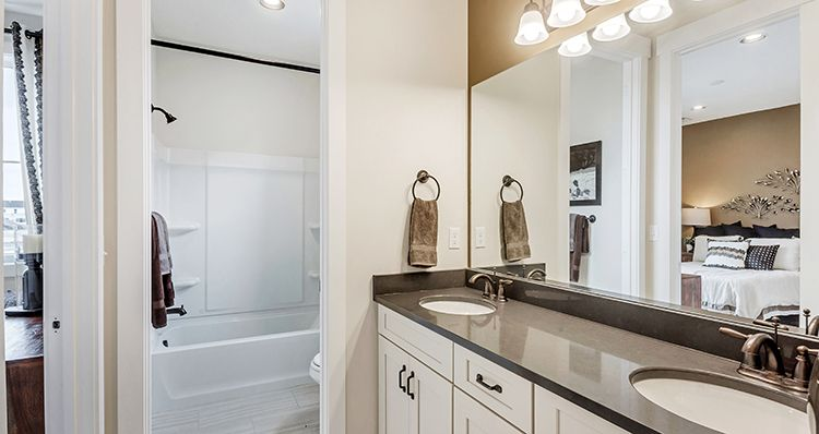 Bathroom featured in the Sagecrest - SCP By Woodside Homes in Provo-Orem, UT